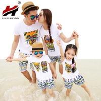 Beach Seaside Children And Children Installed Summer Brand New Mother And Child Loaded Female Women Short
