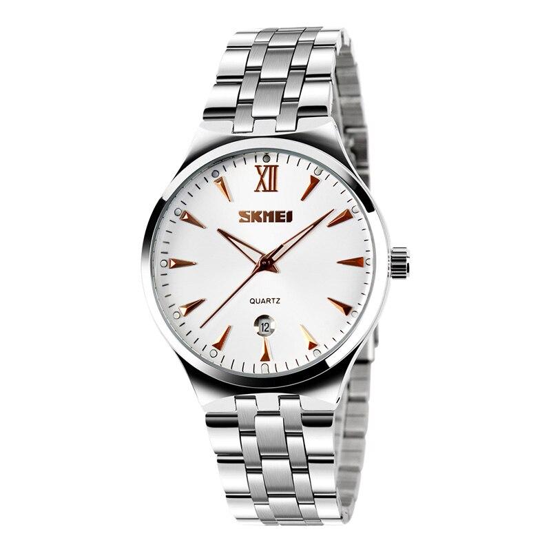 Skmei Women's Watch Clock Men's Watch Top Brand Luxury Quartz Ladies Wrist Watch Fashion Water Resistant Relogio Feminino 9071