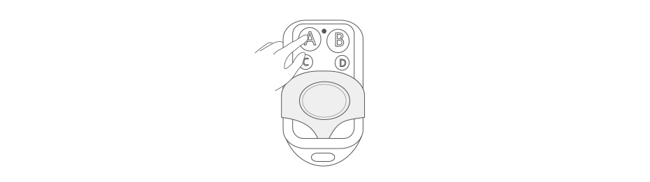 MHz Button Fernbedienung/Touch Dollar 16