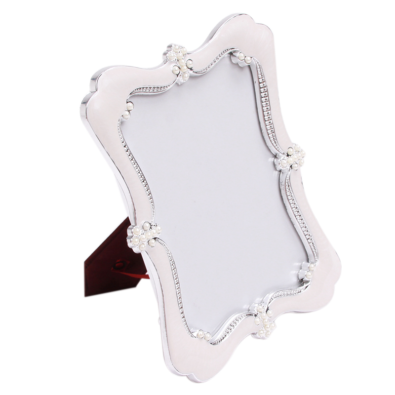 2015 limited real 7inch white fashion vintage swing sets resin picture frame rustic photo horizontally upright