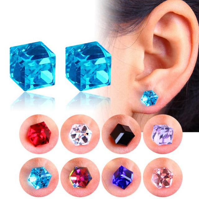 6 MM No Pierced Magnet Stud Earring Magnetic Earrings Lose Weight Magnetic Health Jewelry Of Lazy Paste Slim Patch