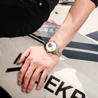BINKADA Homens Fase Da Lua Tourbillon Automatic Relógios mecânicos Homens Marca de Luxo Homem de Negócios completa steel watch Relógio de Mergulho 30 M|clock brand|clock men|clock men brand -