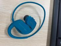 (Yeni değil) SONY su geçirmez yüzme mp3 çalar entegre aksesuarları ücretsiz kargo WS414