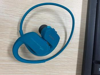 USED(NOT NEW),SONY waterproof swimming  mp3 player integrated accessories free shipping WS414