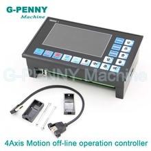 Бесплатная доставка! 3 осевой 4 осевой контроллер DDCSV2.1 с ЧПУ, 500 кГц
