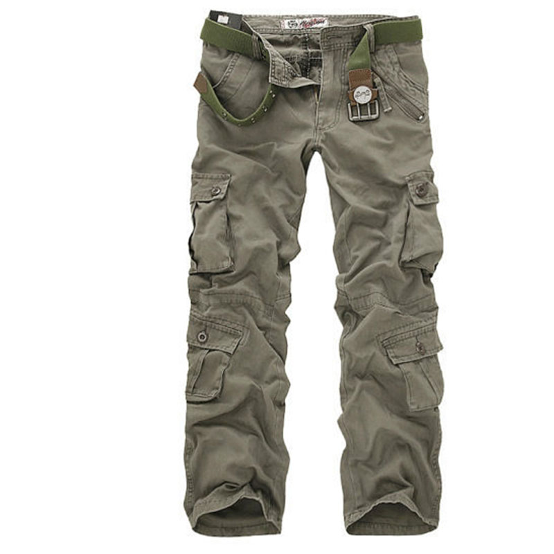 Compare Prices on Mens Cargo Pants with 6 Pockets- Online Shopping ...
