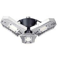 6000lm 60 W Led lámpara Deformable Luz de garaje E27 LED Bombilla de maíz iluminación de Radar lámpara Industrial de estacionamiento de alta intensidad