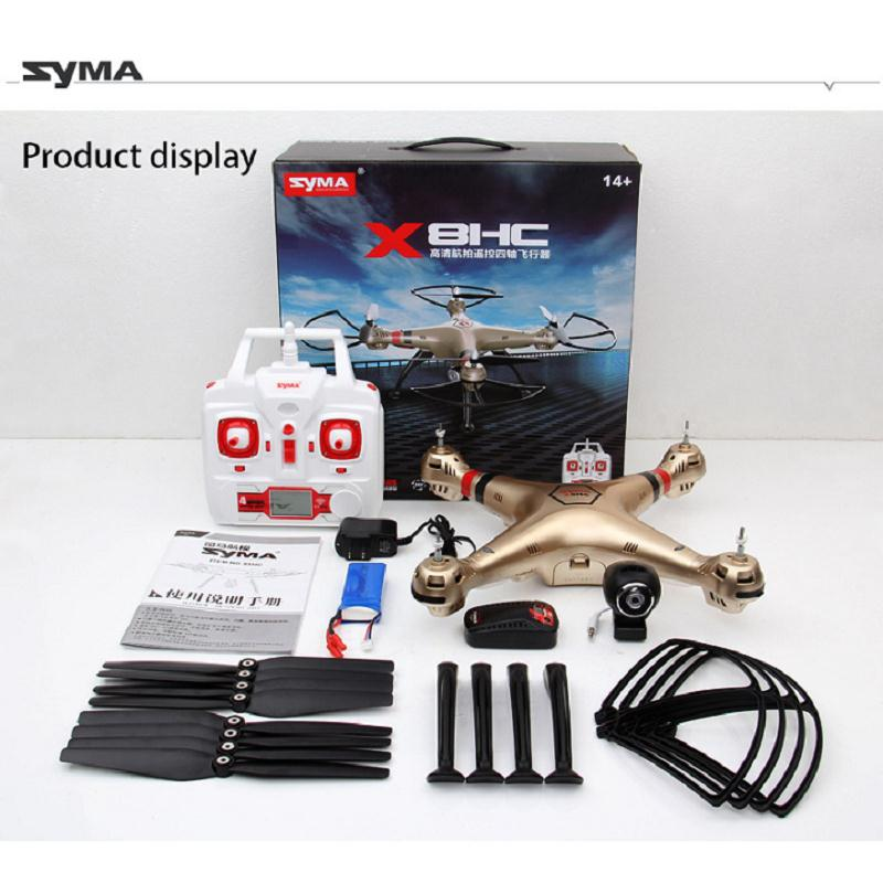 Syma X8HW Wifi FPV Remote Control Drone 6 Axis LED Camera HD Video RC Quadcopter Toy Helicoptero Air Plane Children Kid Gift 902s remote control drone wifi fpv rc helicopter hd camera video quadcopter kids toy drone aircraft air plan toys children gift