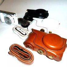 Кожаный чехол для камеры samsung GALAXY EK-GC100 GC100 GC200 EK-GC-200 цифровая камера из искусственной кожи коричневый, белый, черный