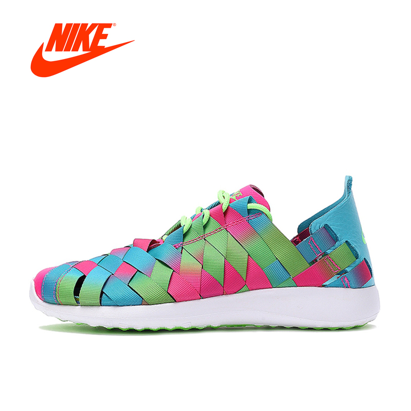 2018 Original NIKE JUVENATE WOVEN PRM Running Shoes for Women Winter Athletic Outdoor Jogging Stable Breathable gym Shoes original new arrival authentic nike juvenate woven prm women s light skateboarding shoes
