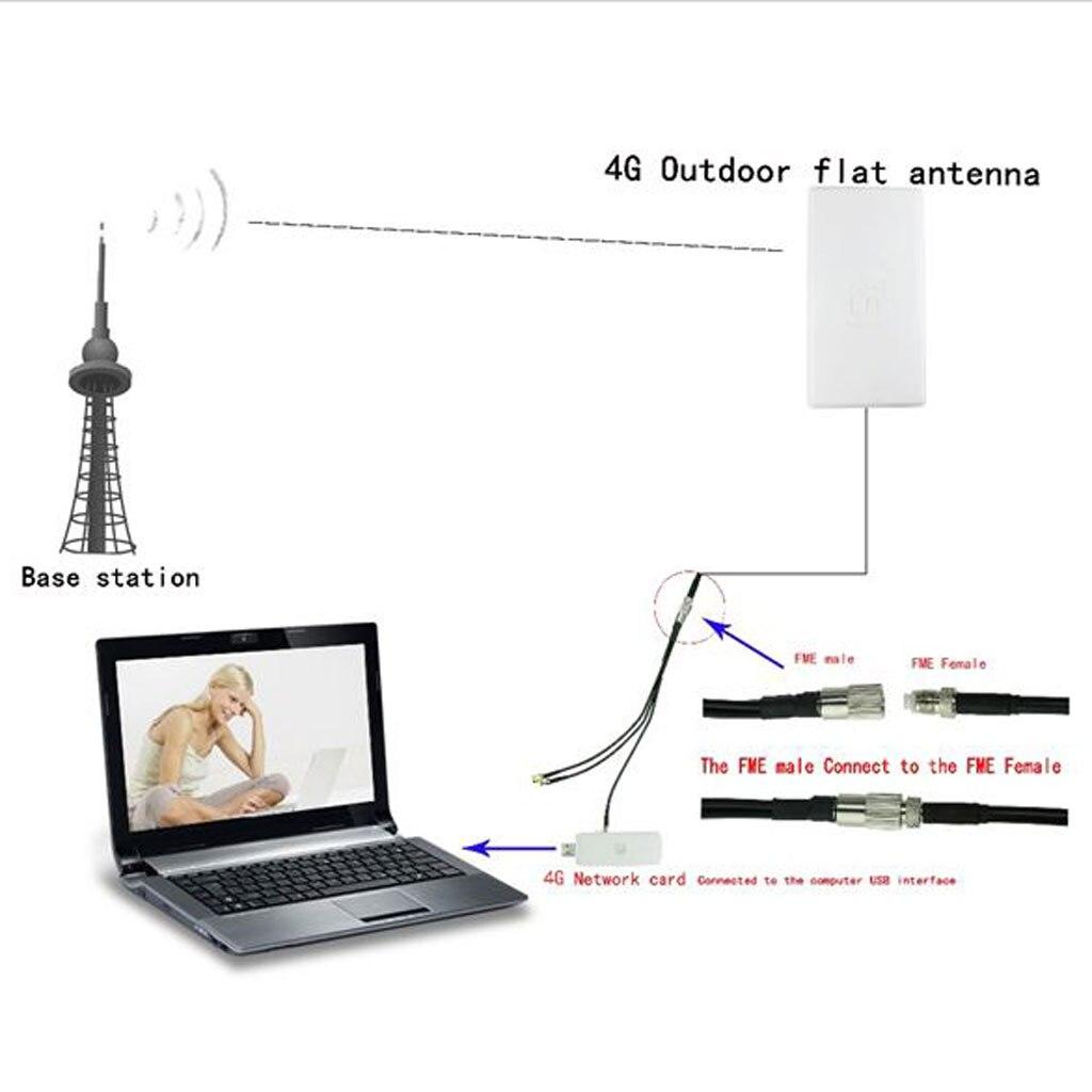 SMA 4G LTE antenne 24dBi antenne extérieure amplificateur de Signal 4G LTE antenne 24dbi SMA N connecteur femelle type