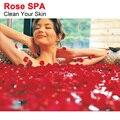 100% Natrual Rose Bath Spa Rose Aliviar Decenas de Estrés + Piel Limpia Disfrutando de Buena Sensación Del Pie Spa Herramienta Masajeador Corporal C004