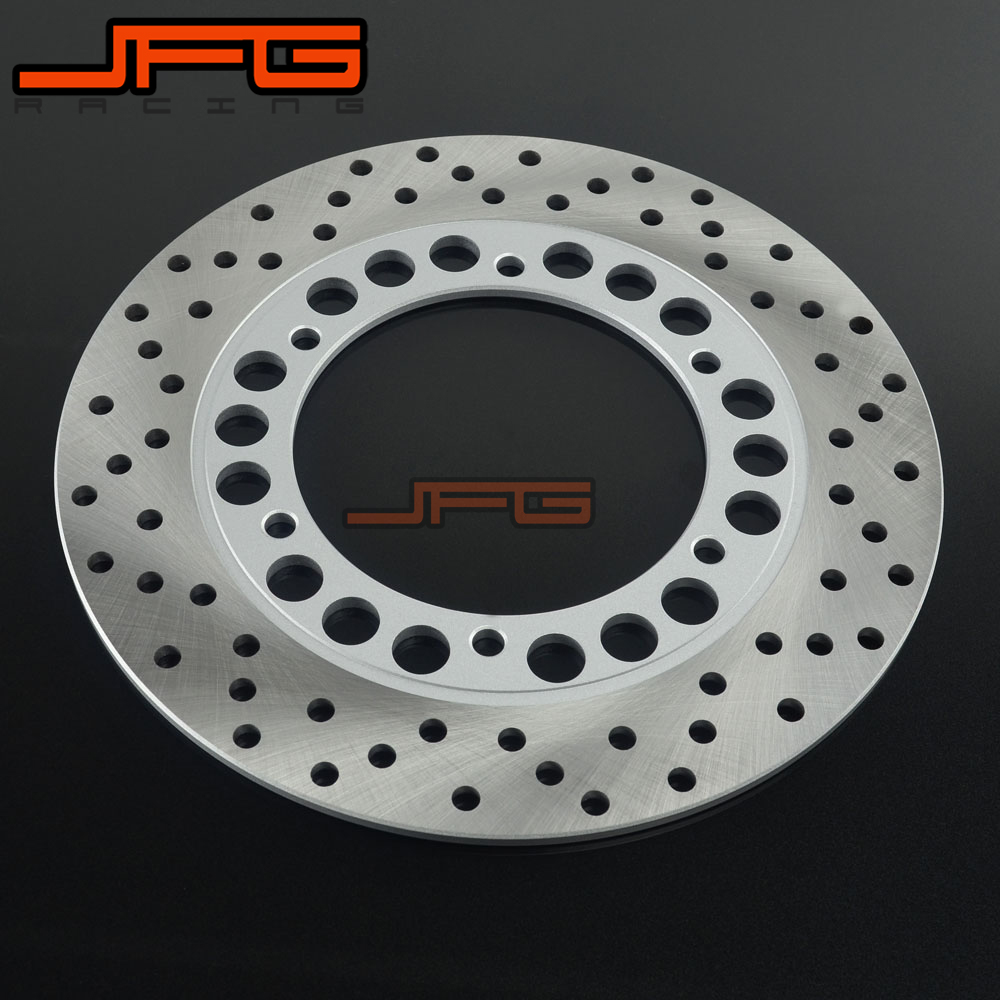 Outer Diameter 245mm Stainless Steel Rear Brake Disc Rotor For FZ400 SRX400 XJ400 XJR400 FZR600 FZS600 SRX600 XJ600 TDM850 XT660 rear brake disc rotor for yamaha fz400 srx400 xjr400 fz600 fzr600 fzs600 srx600 xj600 yzf600 yzf750r tdm850 tdm900 yzf1000