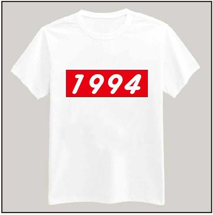 1994 Justin Tshirt For Men Women Cotton Casual Shirt White Top Tees Big Size S-XXXL TZ155-02