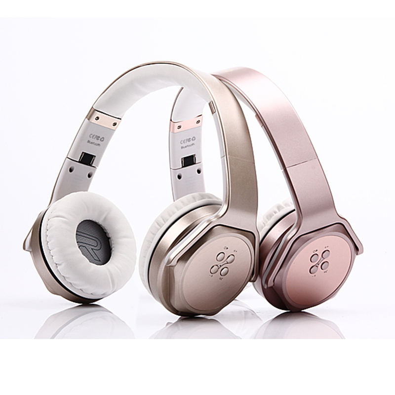 High Quality 2 in 1 Wireless Headphones Bluetooth Speaker Foldable Stereo Headset Big Earphone For Mobile Phone Computer ipad PC high quality csr8635 chipset stereo headphone with mic speaker headset foldable bluetooth 4 1 headphones