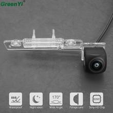 170 Gradi Sony MCCD Fisheye Lens Starlight Night vision Videocamera vista posteriore Per VW Touran Passat Jetta Caddy Golf Plus Multivan T5