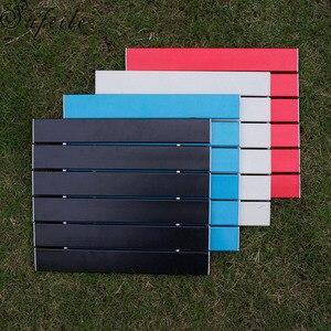 Image 2 - SUFEILE przenośny odkryty składany stół aluminiowy stół do grillowania stół kempingowy piknik składany stół D50