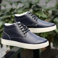 Snow Boots Winter Shoes Men Waterproof Warm Male Boots Short Plush Big Size 5 5 14