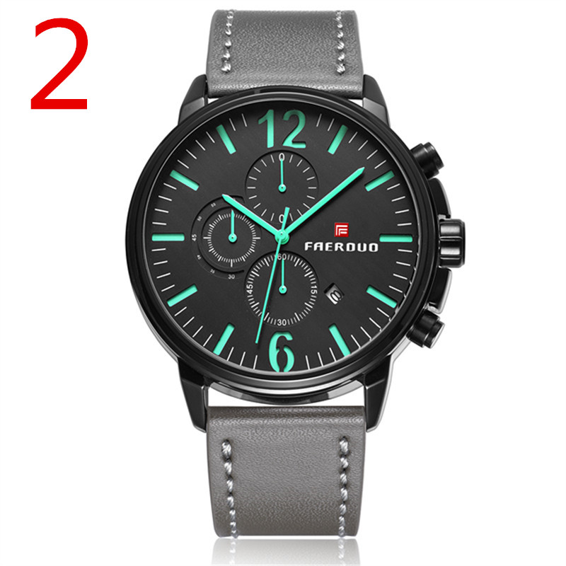 In 2018, new men quartz watch, high-quality outdoor sports men's wristwatch strap, fashion business watch, male.
