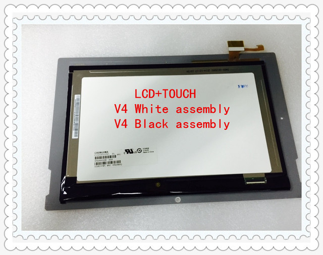 US $18 72 33% OFF|Original MEDION DY10118 (V4) CLAA101FP05 xg B101UAN01 7  LCD module LIFETAB10 1 inch LCD assembly LCD module Free shipping-in Tablet