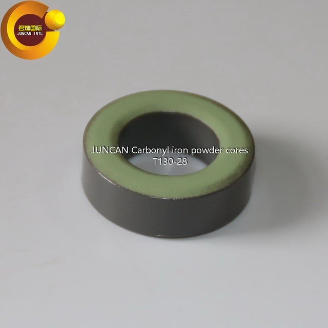 T130-28  Soft magnetic materials, magnetic ring, magnetic core, iron powder cores, magnetic ring inductance