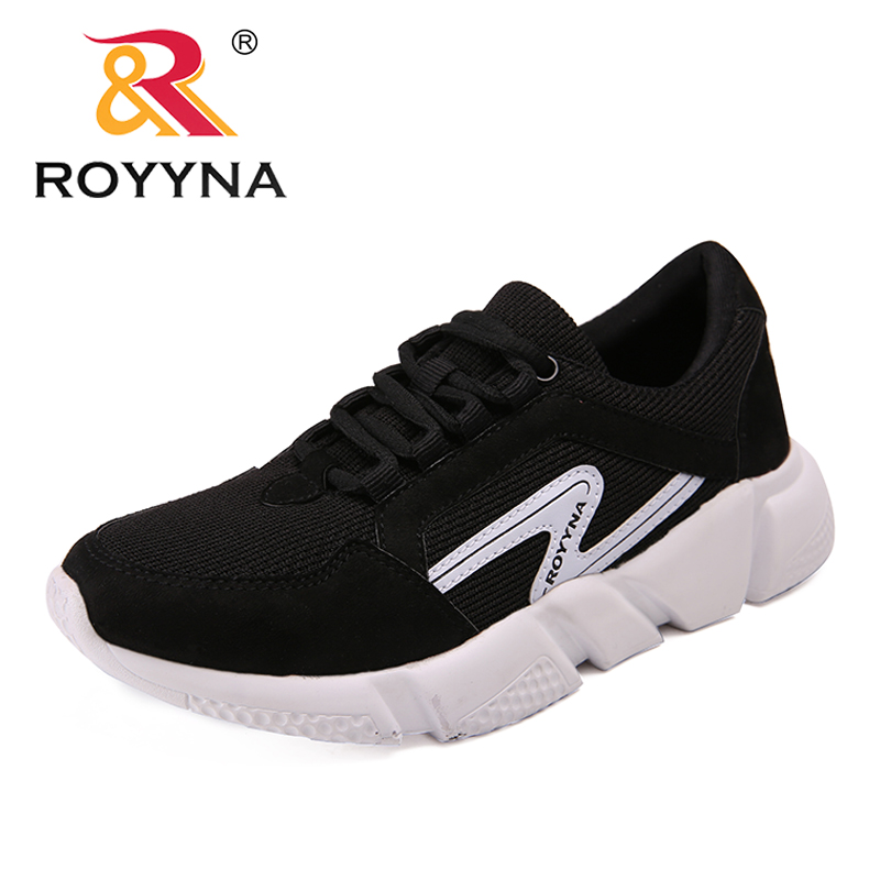 ROYYNA New Arrival Classics Style Women Flats Mesh Women Casual Shoes Lace Up Women Fashion Sneakers Shoes Light Free Shipping