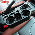 Car Universal Seat Seam Wedge Cup Drink Holder Mobile Shelf Content Box For Volvo V40 S80 XC60 S60 V60 XC90 S40