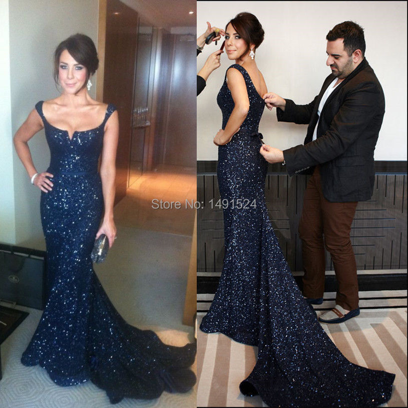 Online Buy Wholesale black sequin prom dress from China black ...