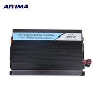 AIYIMA 1Pc 300W Pure Sine Wave Solar Power Inverter DC 12V/24V To AC 220V 50HZ OFF Grid Inverter For Solar System Car Invertor