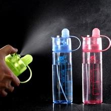 Creativa Taza Fresca Belleza Agua Pulverizada Cantina Ciclismo Una Botella de Spray Botella de Los Deportes Taza Espacio de Atomización Vasos Nutrición Taza Personalizada