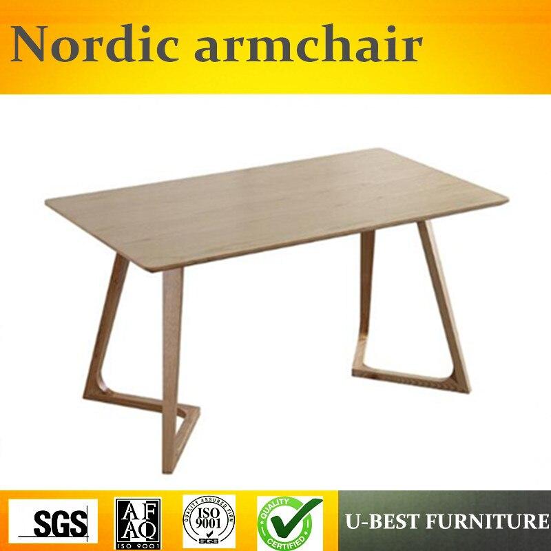 U BEST Creative Design Nordic Coffee Table Simple Modern Creative Living Room Table,solid wood tea table/Home design furniture