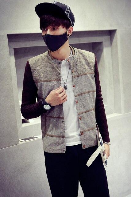 5c235c7b28403 Hot Sale Autumn Winter Sport Jacket Men Korean Slim Fit Single-Breasted  Casual Chaqueta Militar Chaquetas Hombre Colegial