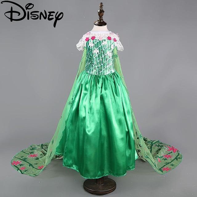 Disney Frozen dress Fever trolls elsa costumes flower girls kids cosplay party princess anna congelados vestidos  sc 1 st  AliExpress.com & Disney Frozen dress Fever trolls elsa costumes flower girls kids ...