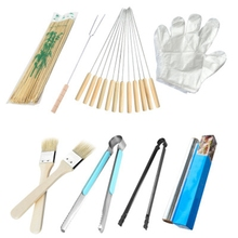 TOP!-Barbecue Party Outdoor Barbecue Tools Bbq Accessories Supplies Eight Sets
