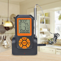 Kitchen Food Thermometer Wireless Remote Digital Thermometer Waterproof Temperature Controller LCD Thermometer For Meat BBQ
