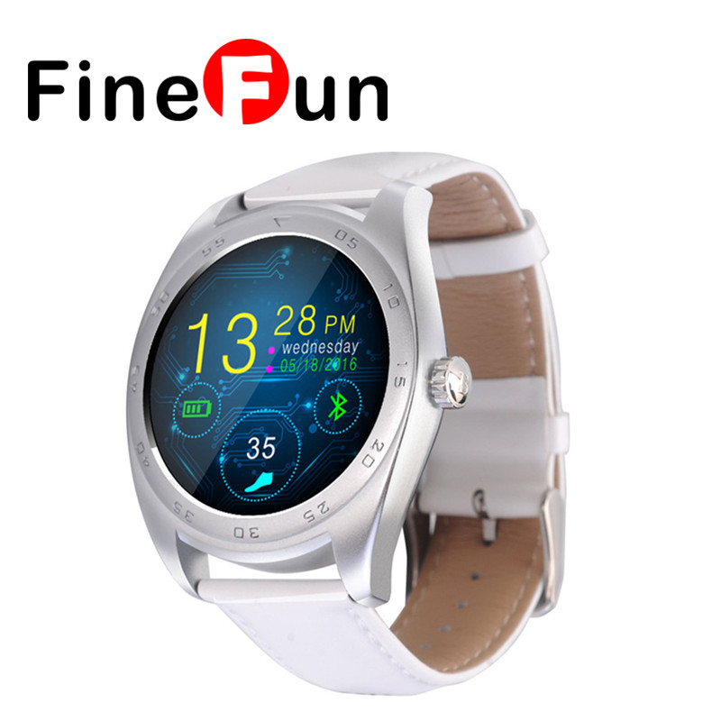 ФОТО FineFun HOT K89 Smart Watch Track Wristwatch MTK2502 Bluetooth Smartwatch Heart Rate Monitor Pedometer Dialing For Android IOS