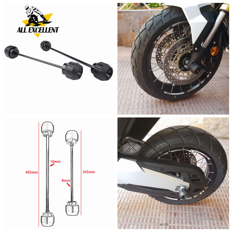 Front Rear Wheel Axle Fork Sliders Crash Protector Shock Absorber Falling For BMW G310GS R HONDA