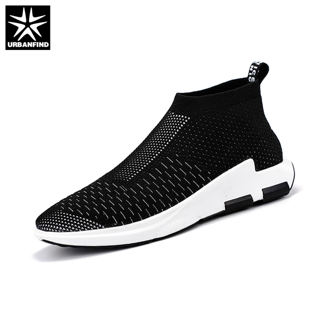 URBANFIND 2017 New Summer Mesh Men Casual Shoes Size 39-44 Brand Fashion Man Slip-on Footwear Breathable Walking Shoes