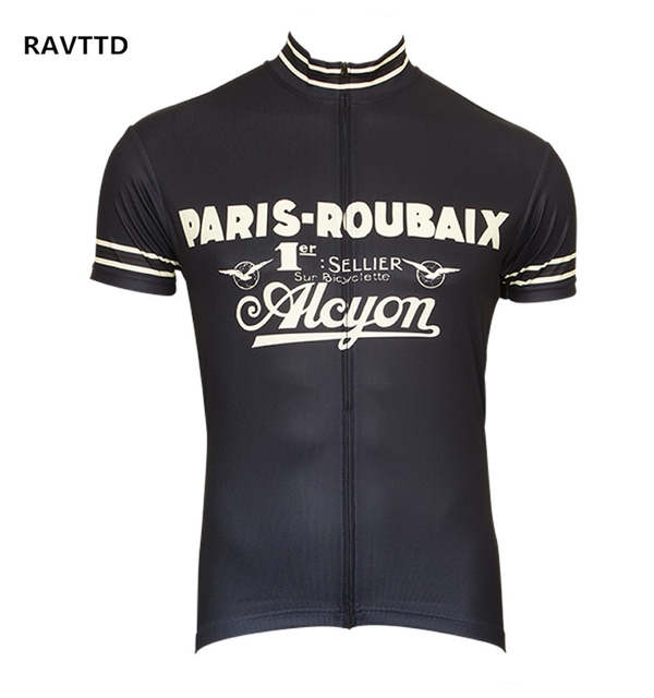 2d50653dc placeholder Retro Cycling Jersey Short Sleeve Bicycle Bike Clothing for Men Ropa  Ciclismo Summer Cycling Wear Clothes