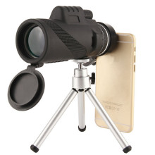 High Power BAK4 Prism 40x60 Monocular Telescope Light Night Vision Waterproof Spyglass Outdoor Traveling Huting Tools