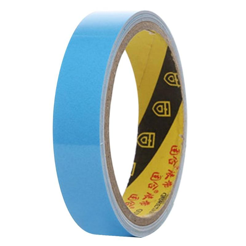 Fluorescent Reflective Tape with New Design Brown Reflective Tape 20mmx3m Reflective Glow Tape Self Adhesive Sticker Fluorescent Warning Round Reflective Tape Reflective Glow Fluorescent Tape