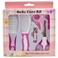 6 pcs Bebê Cabelo Do Bebê Clipper Trimmer Grooming Prática Diária Conveniente Escova Kits de Cuidados Com o bebê