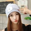 ideaBee Women Men Note Five Hip-hop Baggy Beanie Hat Cool Dance Cotton Blend Cap Sport Hip-hop Letter Number Printed 5 Colors