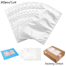 50pcs Plastic Bags Patch Transparent Bill Bag Single A4A5 Invoice Paper Size Packing Document Bag Self-Adhesive pocket Custom factory cheap custom carbonless invoice book invoice book printing