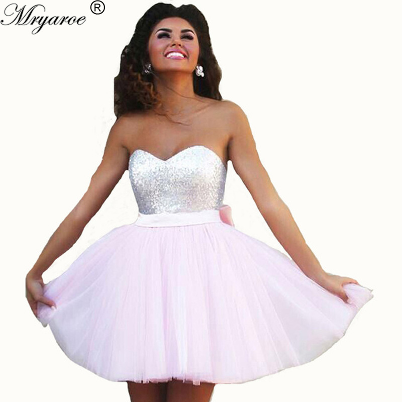 Compare Prices on Cute Pink Prom Dresses- Online Shopping/Buy Low ...