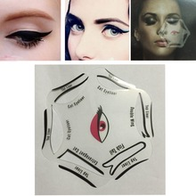 Quick Eye Liner Template  Makeup Cat Eyeliner Smokey Eyeshadow Drawing Guide Reusable Stencil for Classic Eye Liner Template 6 s