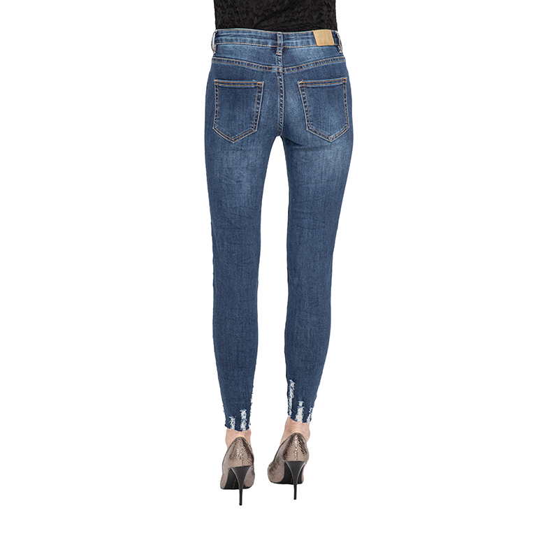 My Will Jeans Mid-Rise Tight-Fitting High-Elastic Cotton Denim Pop Jeans 810 Made In China