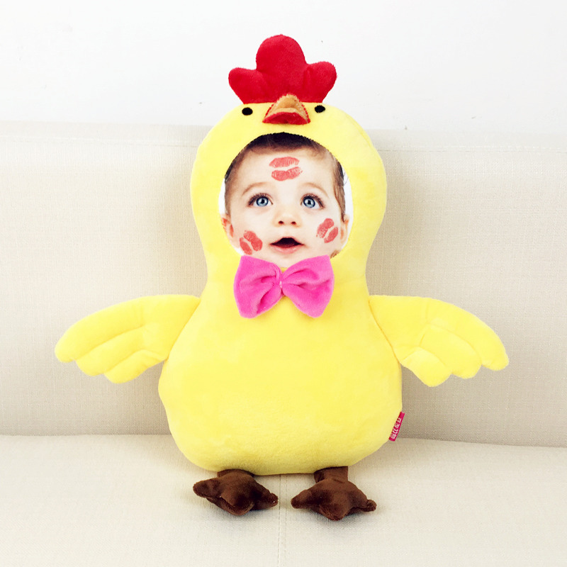 New Hot Photo customization chicken Plush Toys Dolls Stuffed Animal Pillow Sofa Car Decorative Creative Birthday Gift