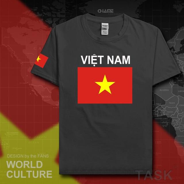 Vietnam Mens T Shirt 2017 Jerseys Nation Tees Cotton T Shirt