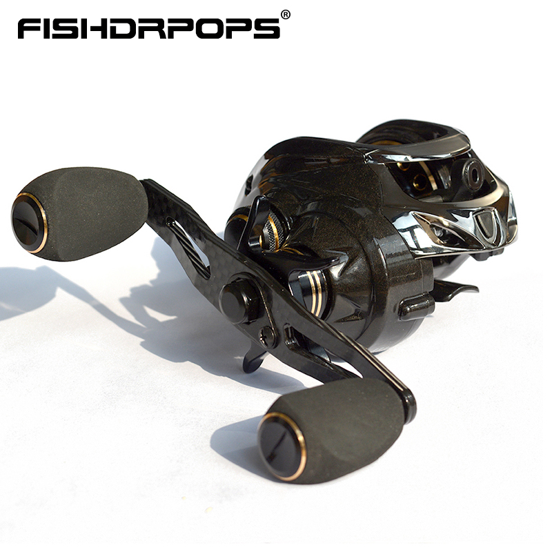 Fishdrops fishing baitcasting reel High speed baitcaster reels light baitcasting reel fishing